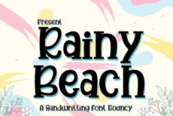 rainy-beach