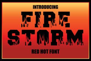 firestorm-font