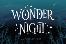 wonder-night-font