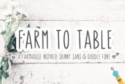 farm-to-table-font