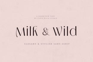 milk-and-wild-font