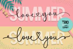 summer-love-you-font