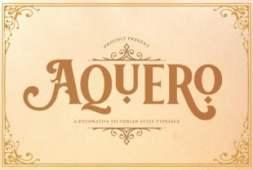 aquero-font
