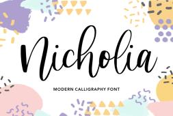 nicholia-font