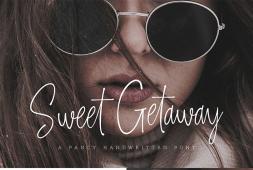 sweet-getaway-font