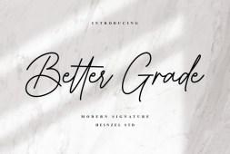better-grade-font