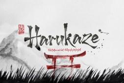 harukaze-font