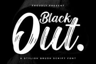 blackout-font