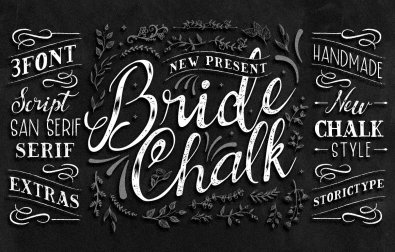 bridechalk-font