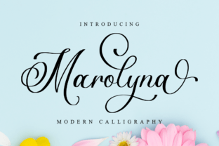 marolyna-font