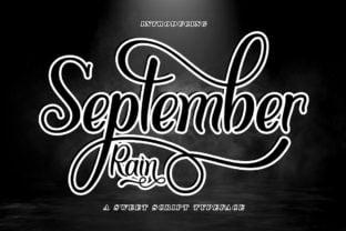september-rain-font