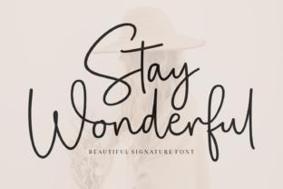 stay-wonderful-font