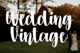 wedding-vintage-font