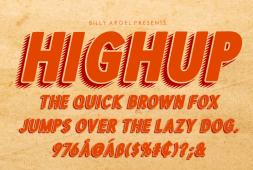 highup-italic-font