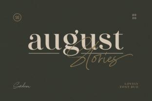 august-stories-font