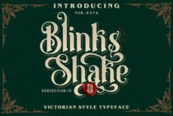 blinks-shake-font