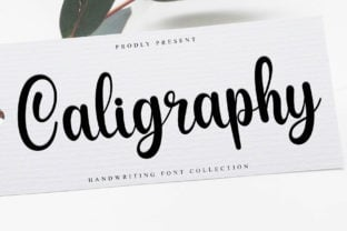 caligraphy-font