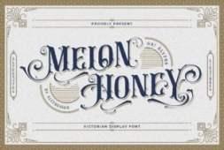 melon-honey-font