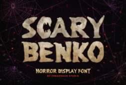 scary-benko-font