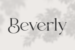 beverly-font