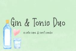 gin-tonic-duo-font