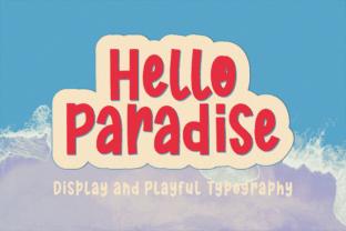 hello-paradise-font