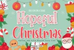 hopeful-christmas-font