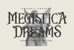 megistica-dreams-font