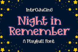 night-in-remember-font