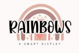 rainbows-font