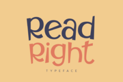 read-right-font