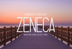 zeneca-font