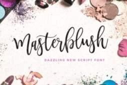 masterblush-font