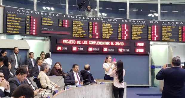 Assembleia aprova reforma da previdência do servidor cearense; confira novas regras