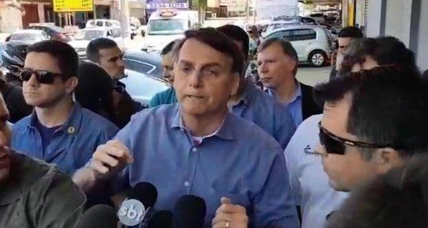Bolsonaro diz que pegou gravação e nega que tenha agido para obstruir investigações