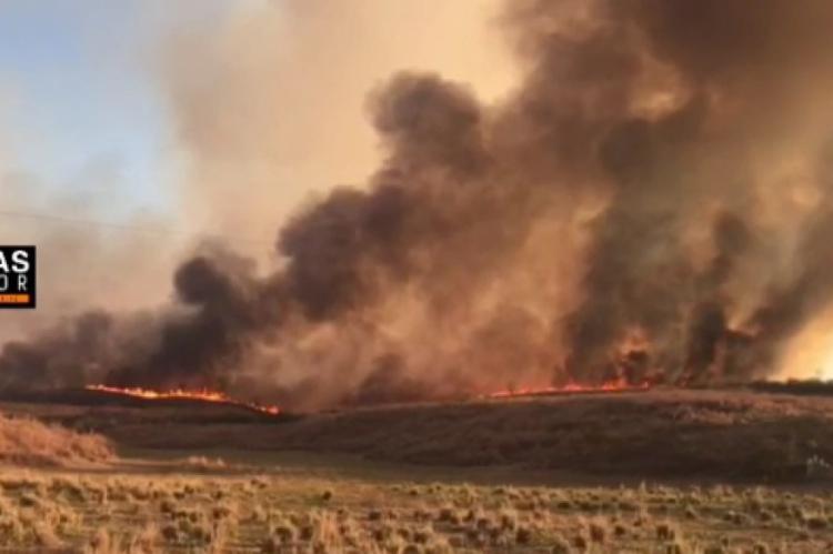 """""""Focos de calor"""" causam incêndios na cidade de Barro no Cariri"""