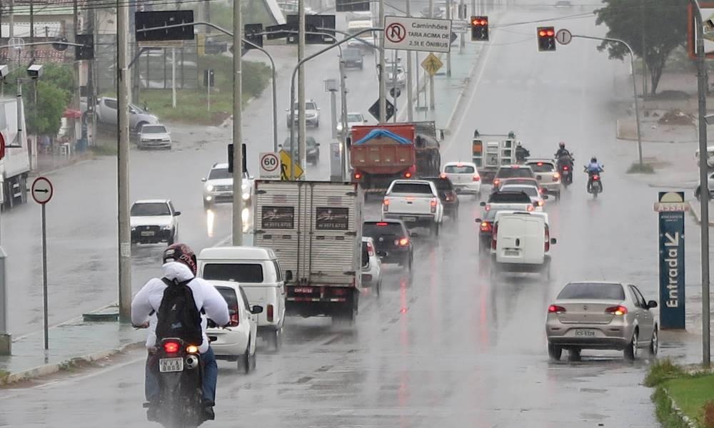 Funceme registra chuvas em mais de 79 cidades do Ceará