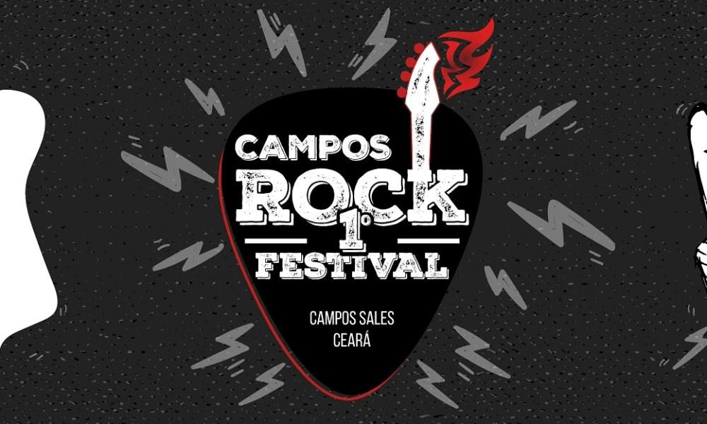 . Campos Sales será sede do primeiro festival de Rock da região. O 1° Campos Rock Festival confirmado para junho de 2020, ainda sem dia e local definido