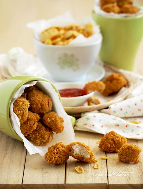 popcorn chicken, chicken nuggets, chicken fingers, chicken bites, oven baked, baked popcorn chicken, toddler, children, kid
