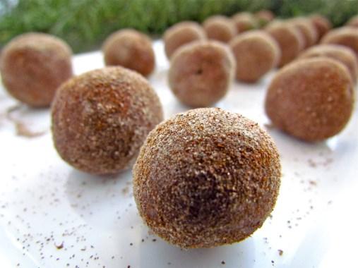 cardamom rose truffles
