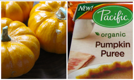 #pumpkin puree