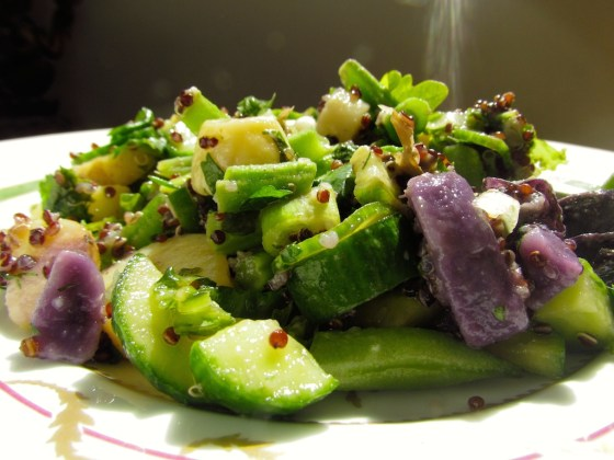 persian cucumber salad