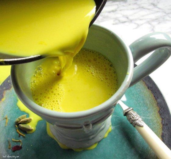 gold milk