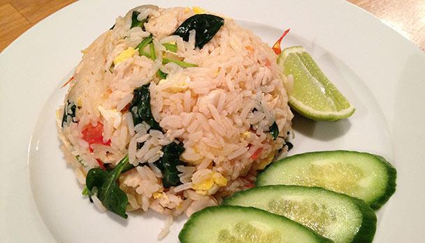 Fried rice, Thai style