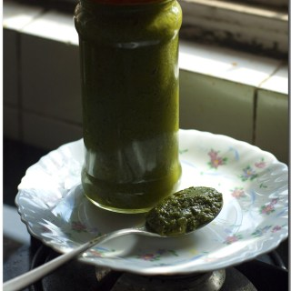 Pesto: Indian Style!