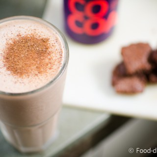 Banana-Brownie-Milkshake, or BBM