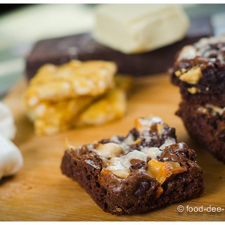 Ruggedly Loaded Brownies