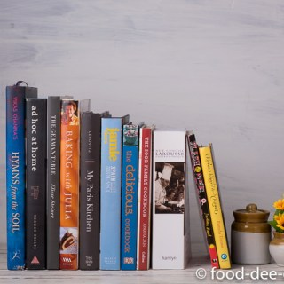 Cookbooks: What's on my bookshelf?
