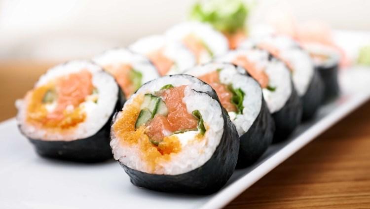 hjemmelavet sushi - futomaki