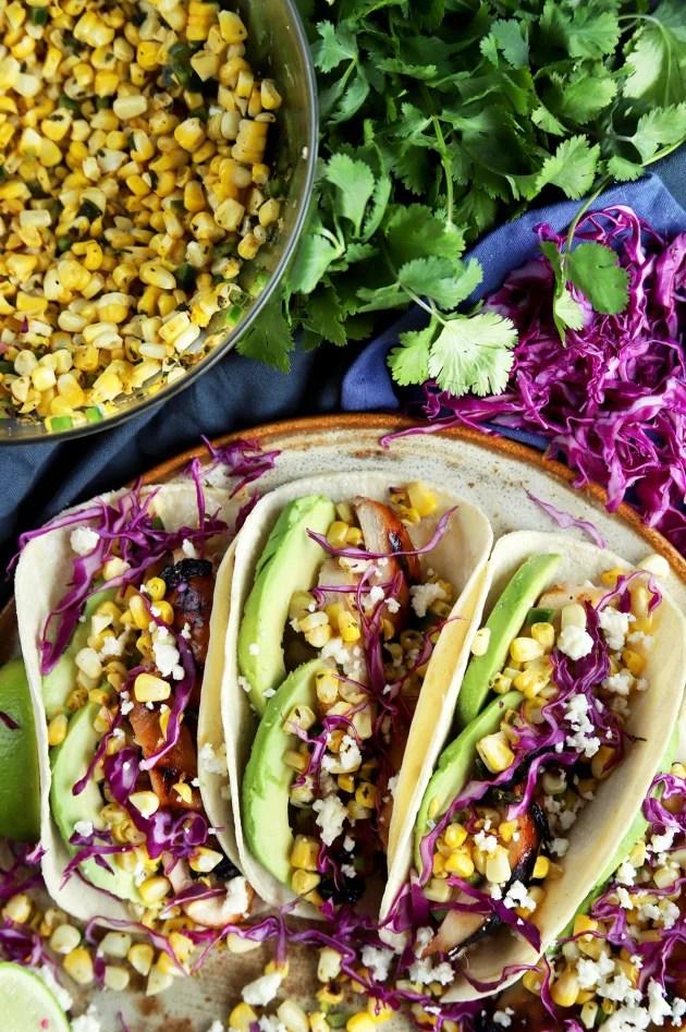 Chicken Avocado Tacos Picture